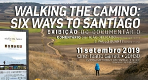 "DOCUMENTÁRIO "" WALKING THE CAMINO: SIX WAYS TO SANTIAGO"""